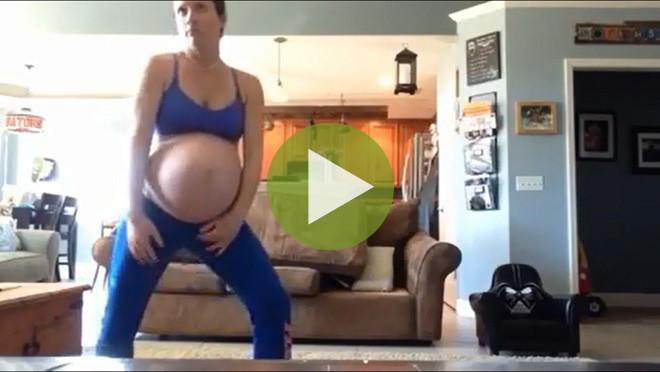 Видео: Этот танец беременной женщины покорил миллионы