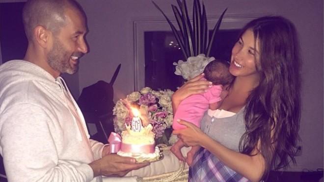 Кети Топурия показала свою дочку (фото)