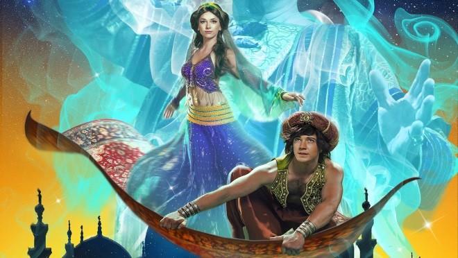 Новогоднее ледовое арена-шоу «Аладдин и Повелитель огня»