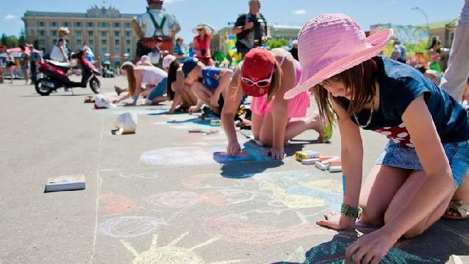 В столице пройдет детский фестиваль «Москва на асфальте»