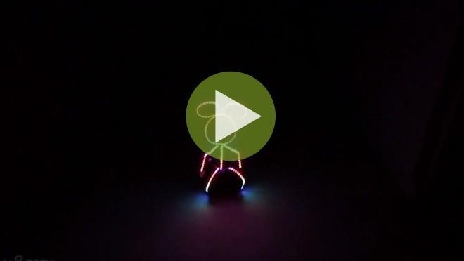Маленький светодиодный Микки Маус