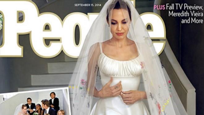 Первые фото со свадьбы Анджелины Джоли и Брэда Питта