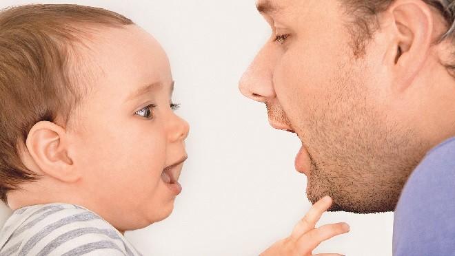 Когда ребенок начнет говорить? Спросите у себя!