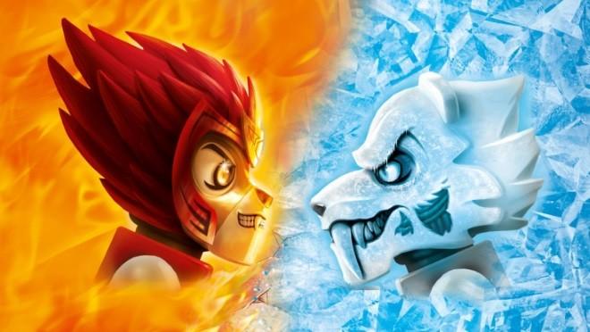LEGO®  приглашает на решающую битву Огня и Льда