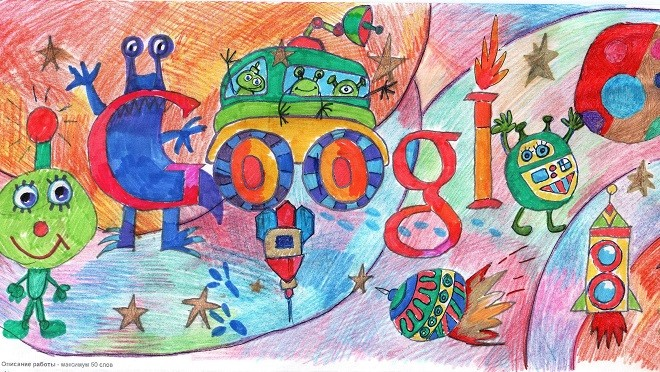 Конкурс детского рисунка «Дудл для Google» продолжается!