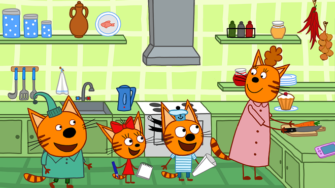 На СТС стартует продолжение мультсериала «Три кота»