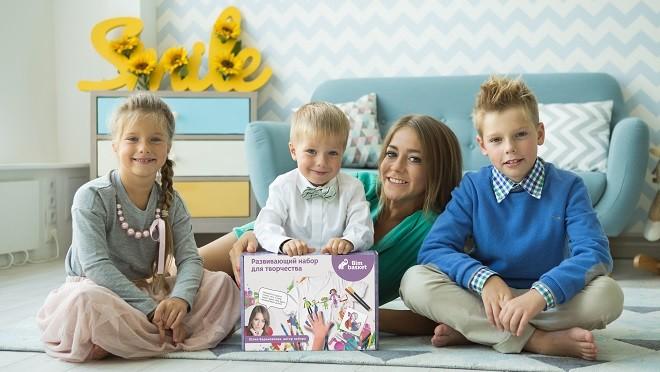 Юлия Барановская стала соавтором развивающего набора для детей