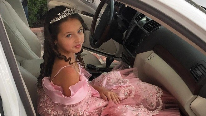 Дочка Анастасии Волочковой отметила свой первый юбилей (фото)