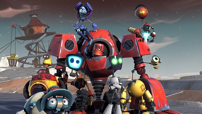 Nickelodeon покажет российский мультфильм «Рободзяки»