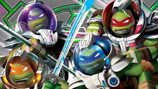 Легендарные «Черепашки-ниндзя» отправляются в космос