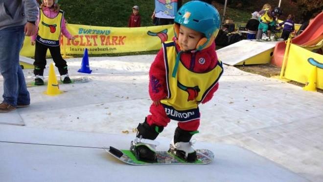 Детский сноубординг – что может быть проще!