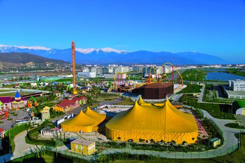 Популярные парки развлечений в России