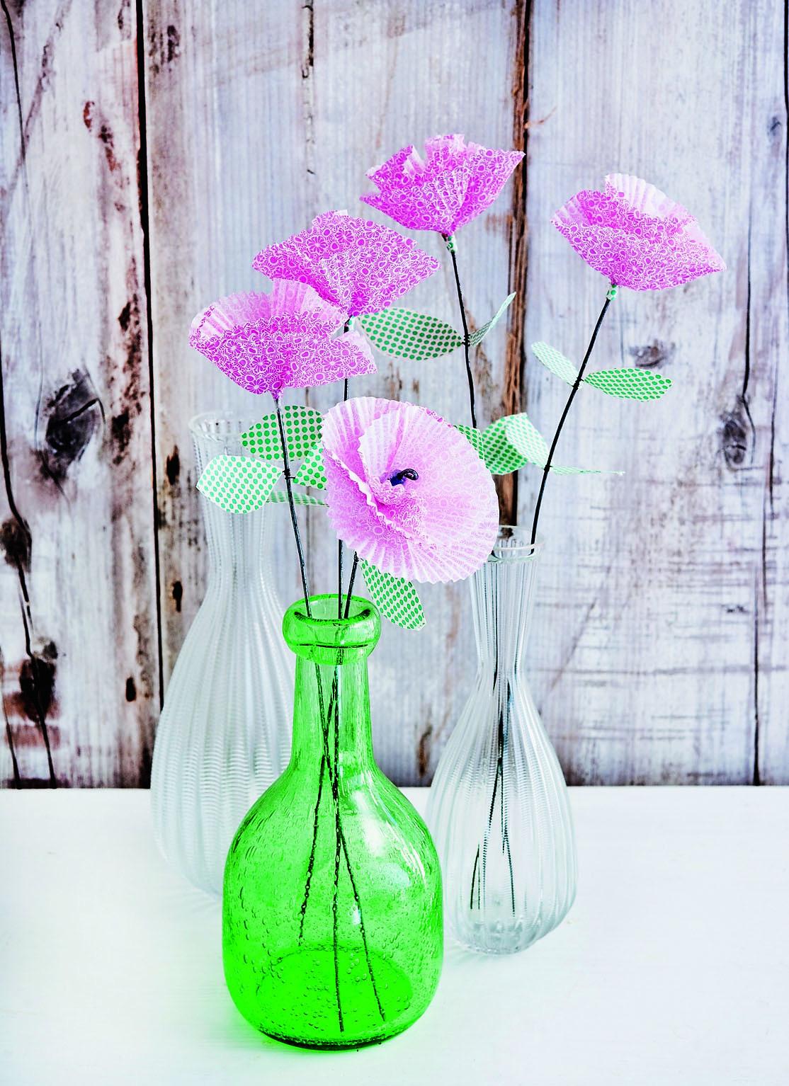 Свежий тренд: изящные цветы из бумаги