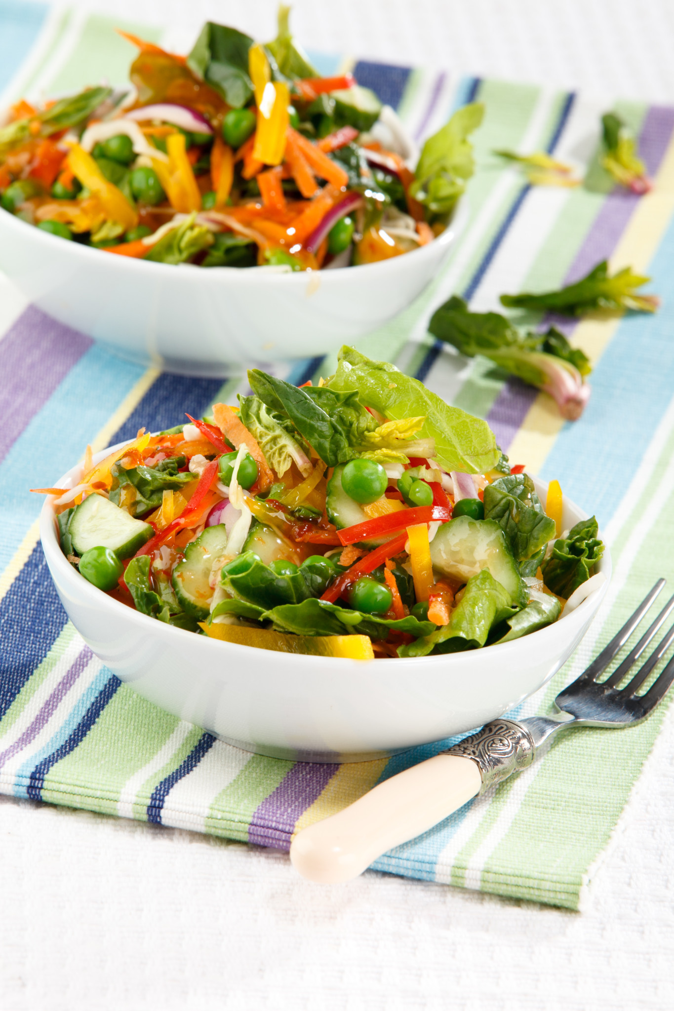 Салат витаминный с медовым соусом