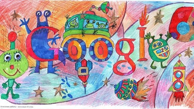 Конкурс «Дудл для Google» набирает обороты!