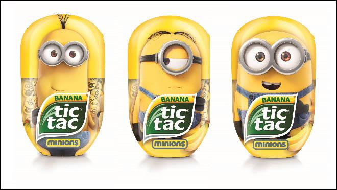 Новый Tic Tac Банан с миньонами — симпатия с первого взгляда