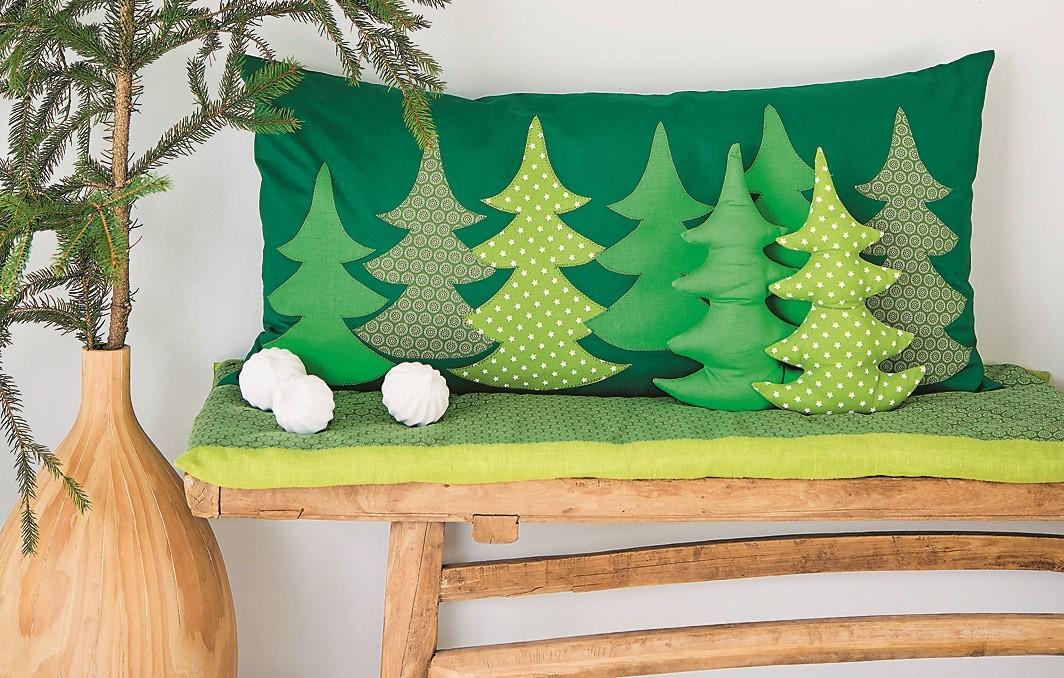 Мастер-класс: уютная подушечка «из леса»