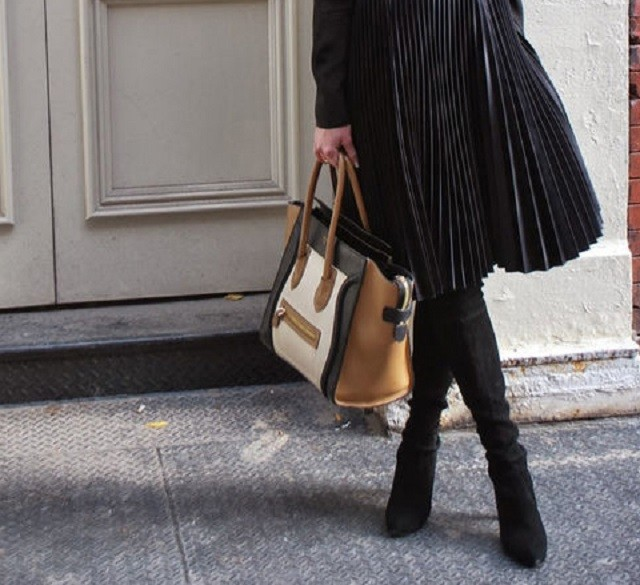С чем носить ботфорты: 10 модных идей