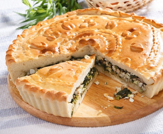 Грузинский пирог с тархуном