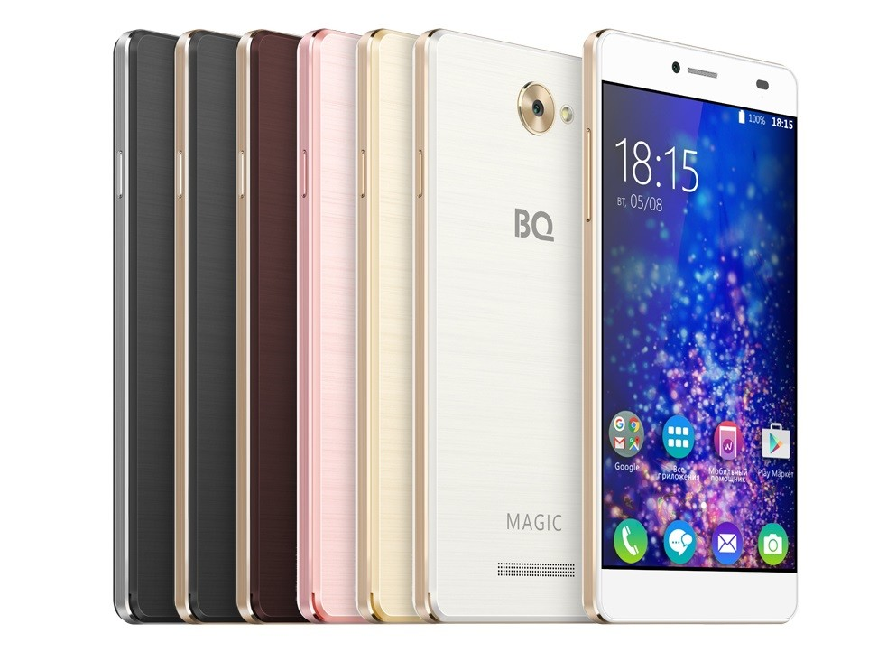 4G-смартфон от BQ: качество, возможности, цена