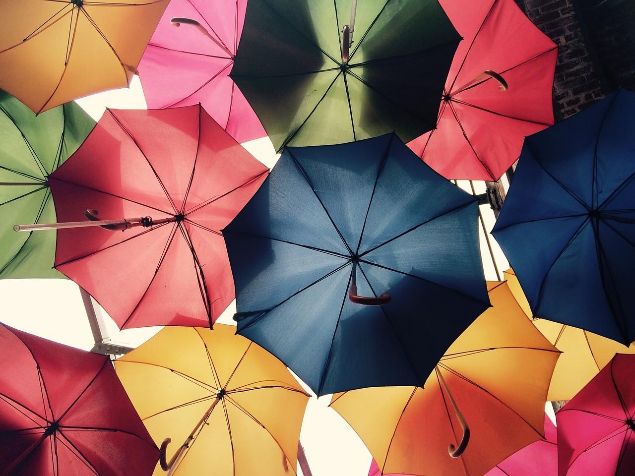 Как выбрать зонт: размер, материал, механизм