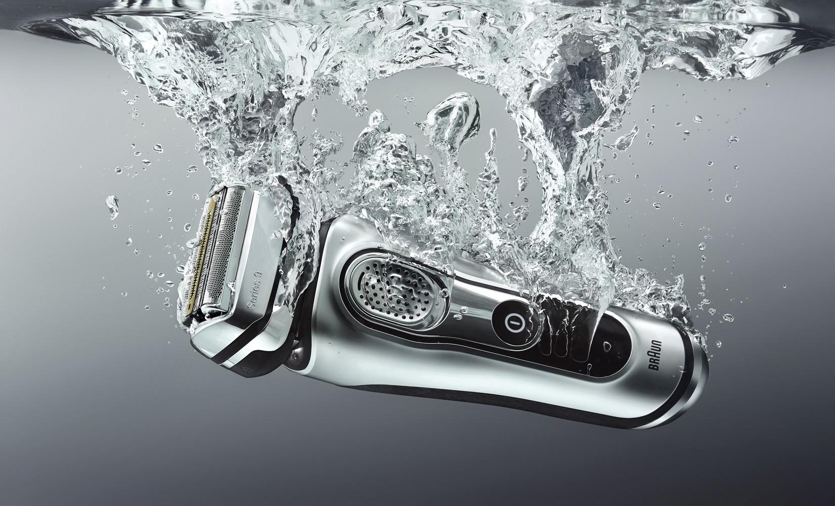 Новая бритва Braun для исключительно комфортного бритья