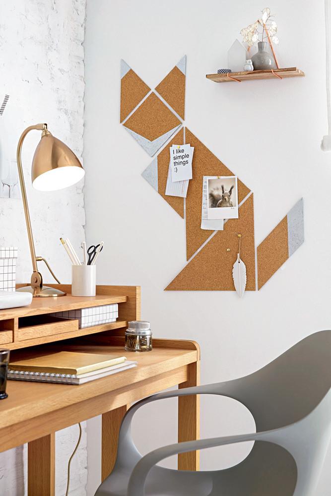Декоративный лис на стену: мастер-класс