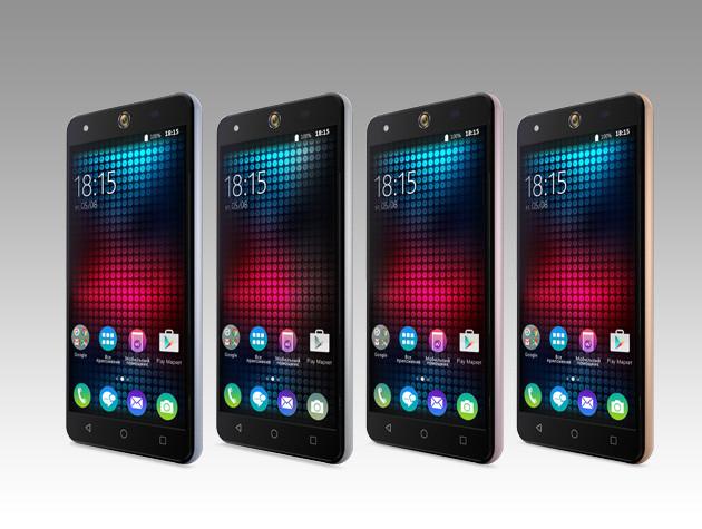 Новая модель смартфона BQS-5050 Strike Selfie для потрясающих селфи