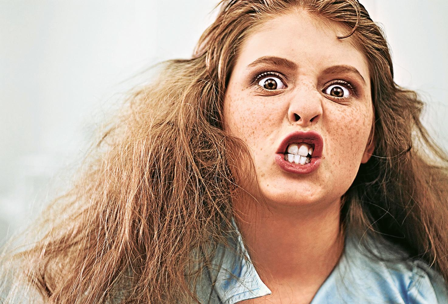 Angry teen girl #3
