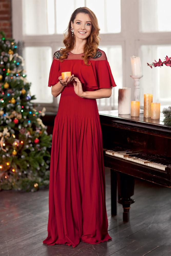 Топ-6 потрясающих вечерних нарядов для новогодней ночи