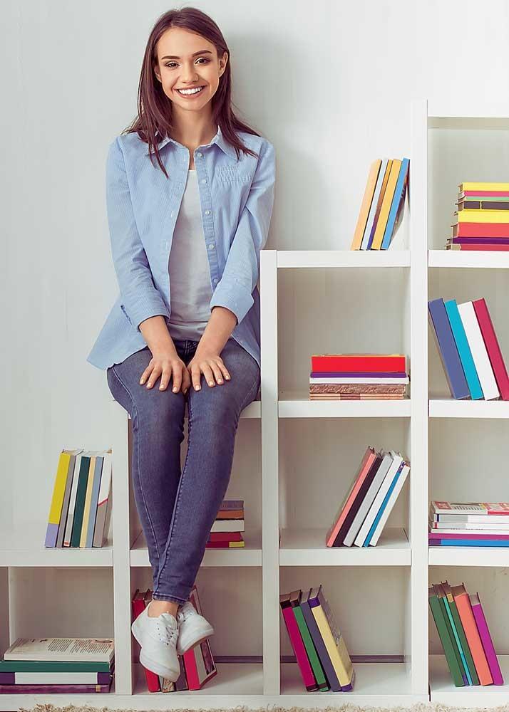 Как рационально и красиво расставить книги: 8 идей