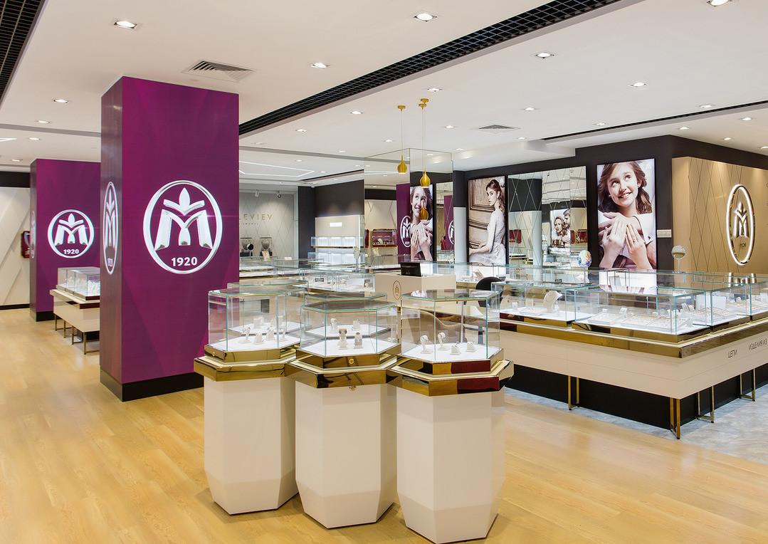 Новый концептуальный магазин Московского ювелирного завода
