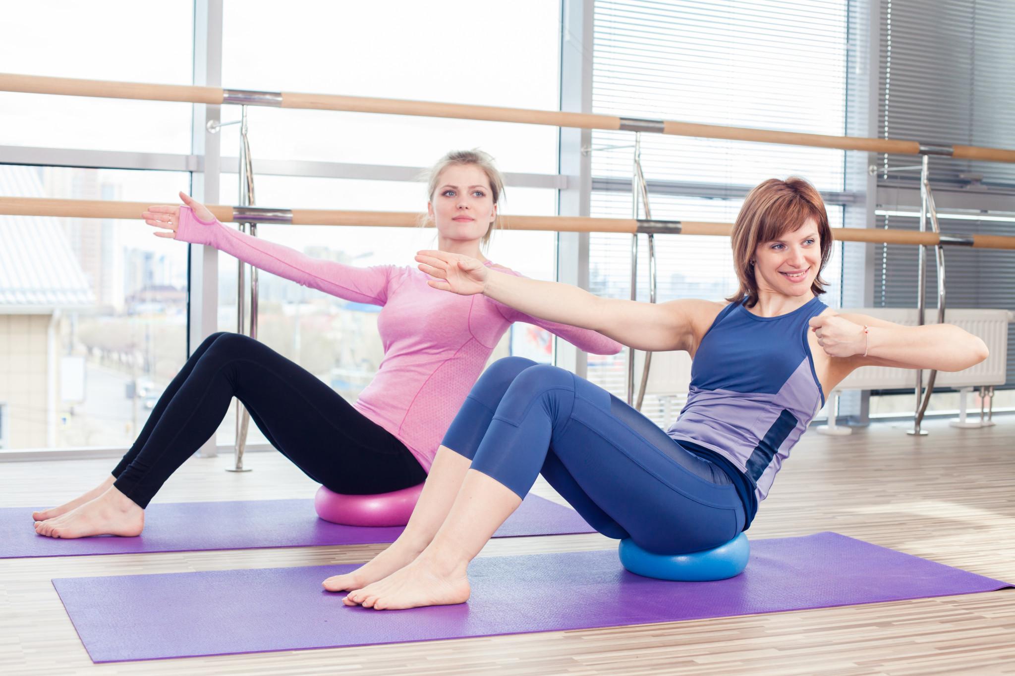 Польза от фитнеса для людей разного возраста