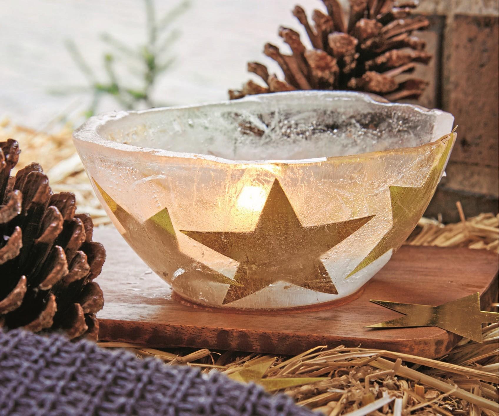 Ледяная чаша: оригинальное украшение для балкона