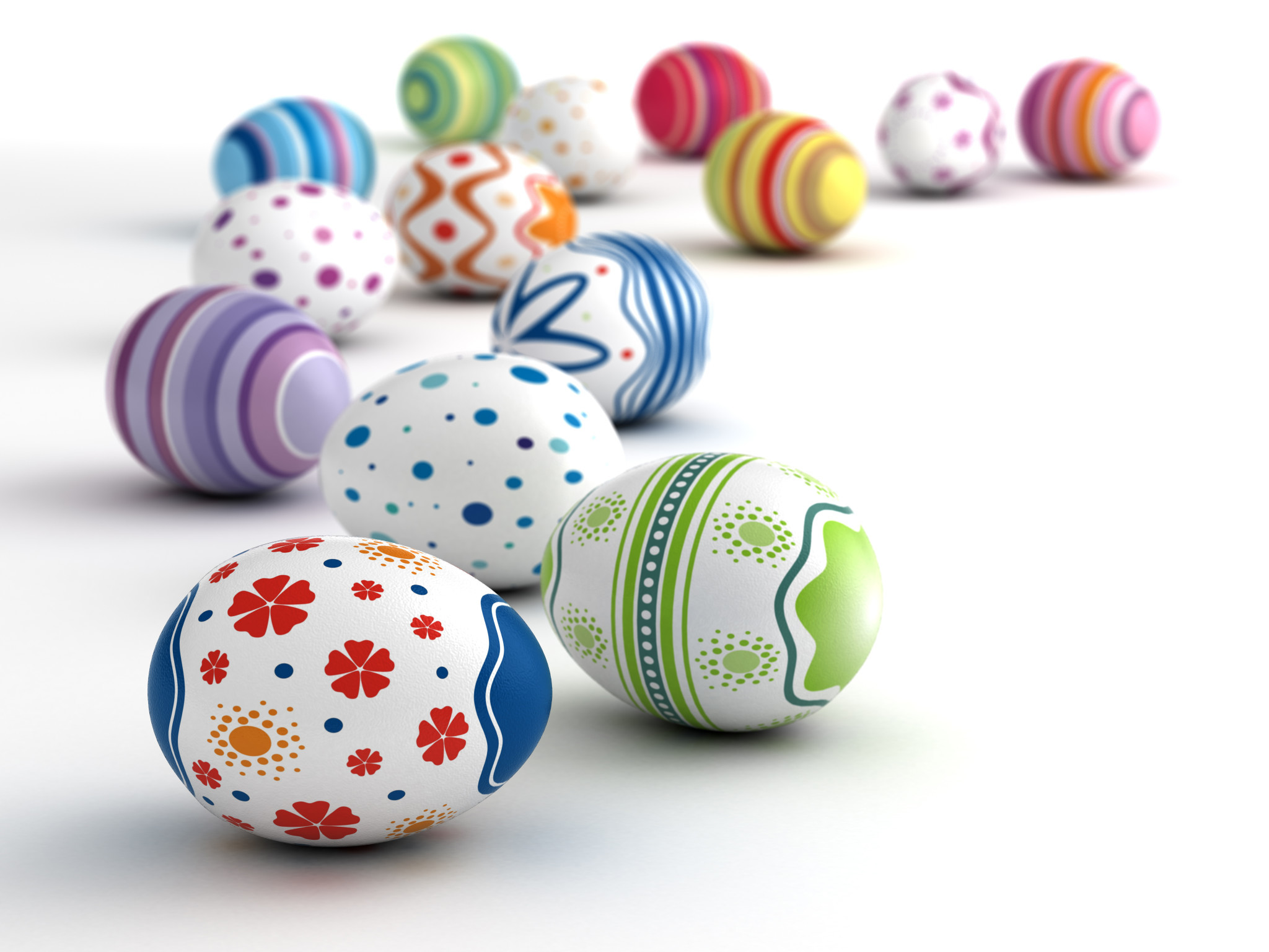 Роспись пасхальных яиц: мастер-класс