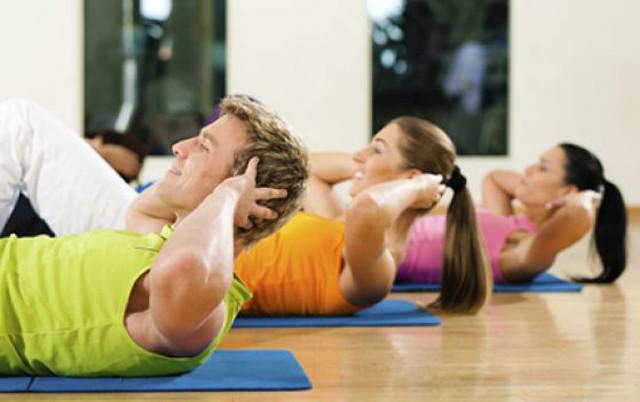 Упражнения для пресса в домашних условиях (фото)