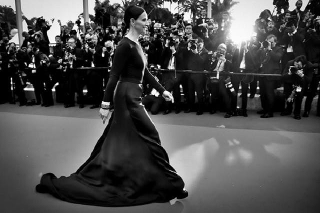 Лучшие черные платья звезд в Каннах