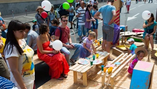 Детские программы на День города