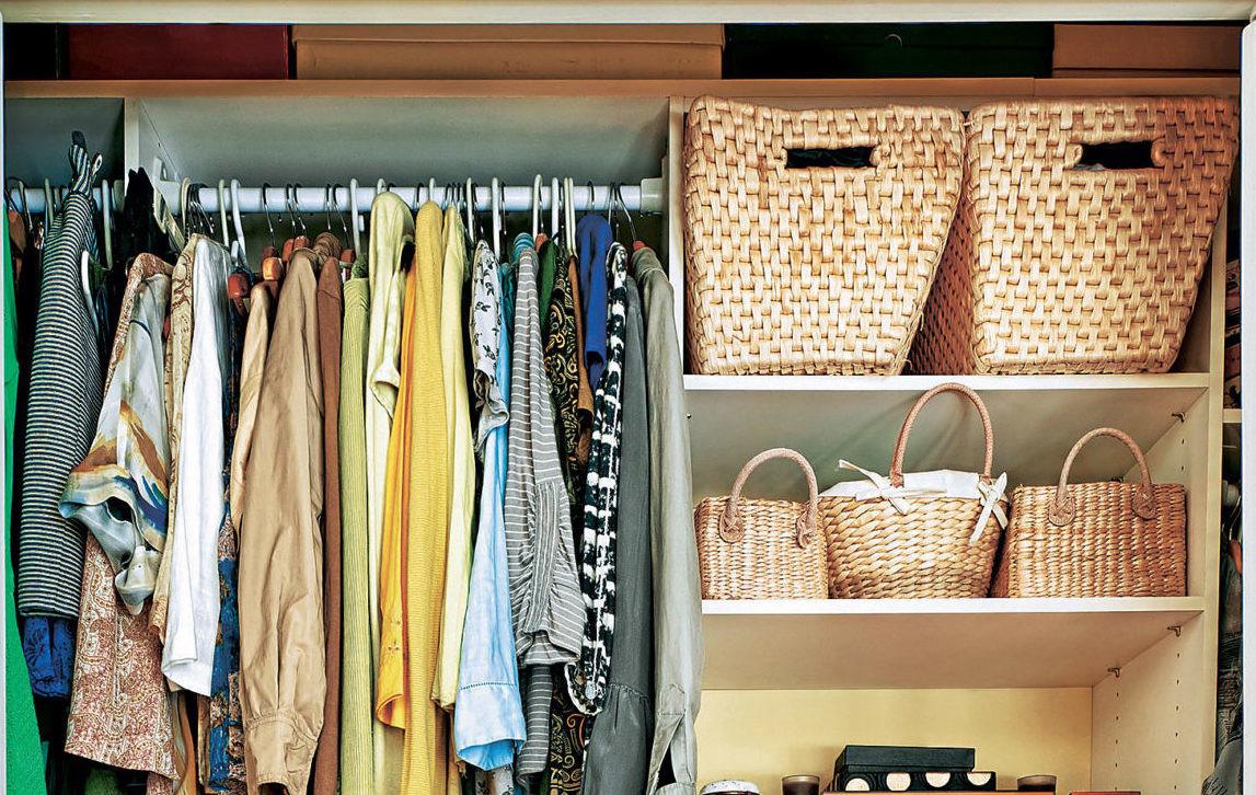 Как раскладывать вещи в шкафу: 5 советов