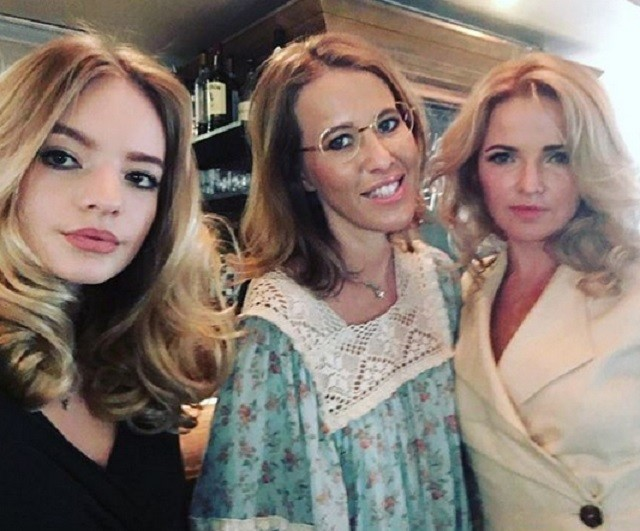 Ксения Собчак подружилась с женой и дочерью Пескова