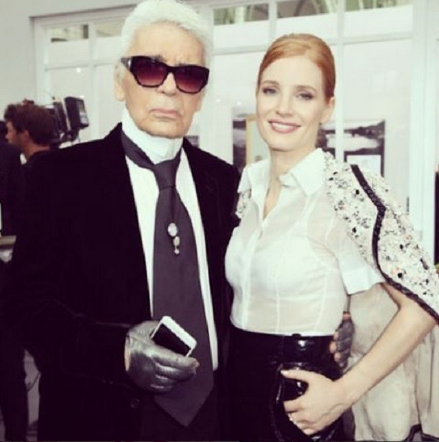 Знаменитости на показе Chanel Couture в Париже