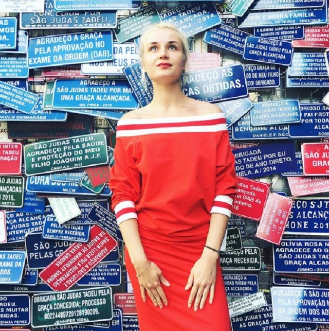 Полина Гагарина демонстрирует наряды в Рио-де-Жанейро