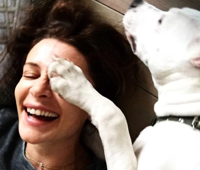 18 трогательных фото: Оксана Фандера и ее Кефир