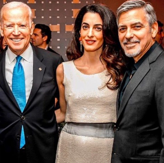 Беременная Амаль Клуни ждет двойню