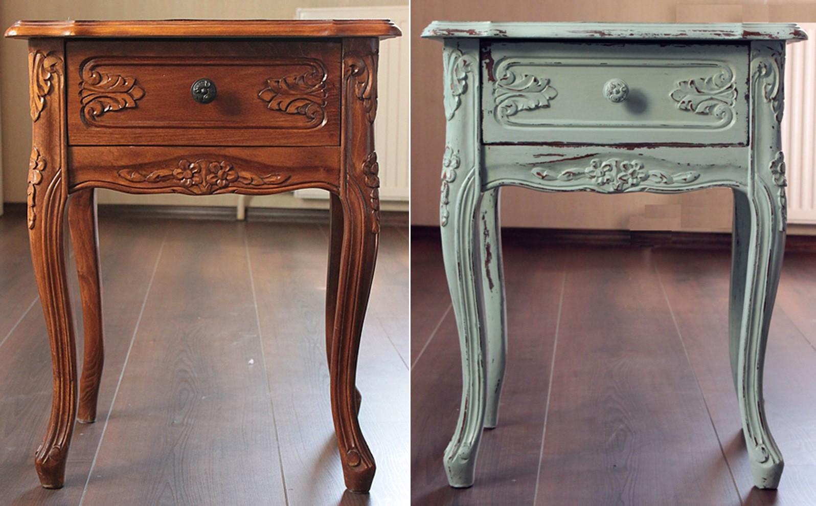 Как обновить старую мебель: мастер-класс