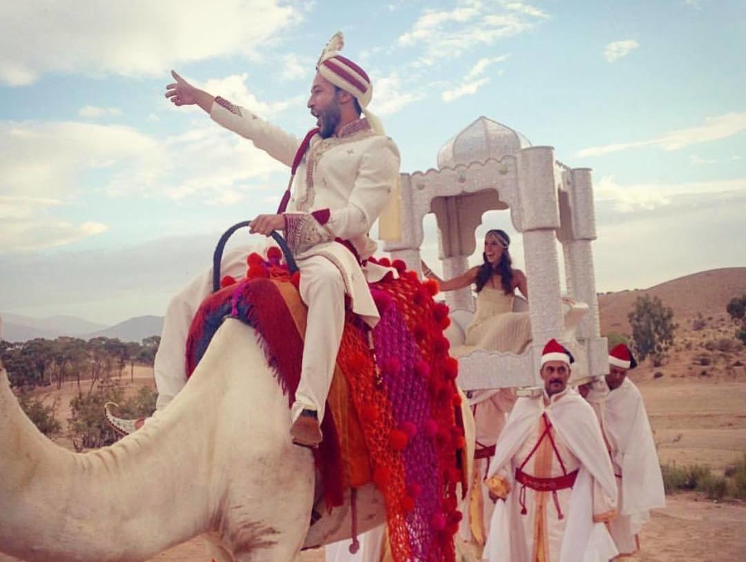 Марокканские танцы и жених на верблюде: второй день свадьбы Инги Меладзе