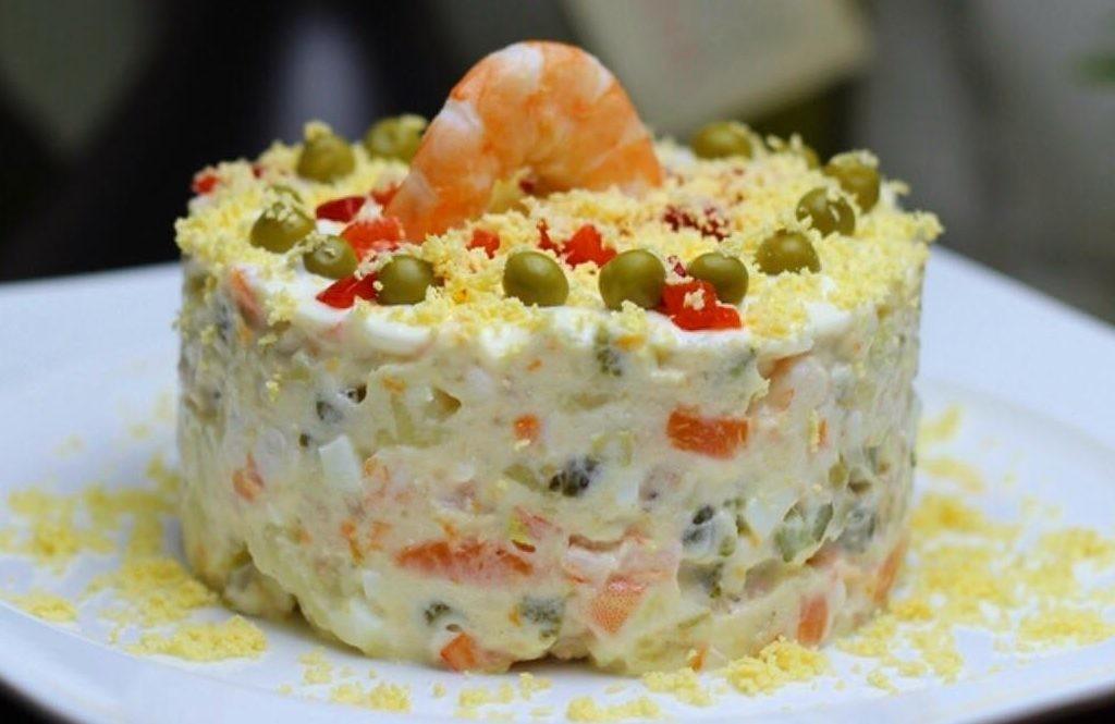 7 необычных рецептов салата оливье