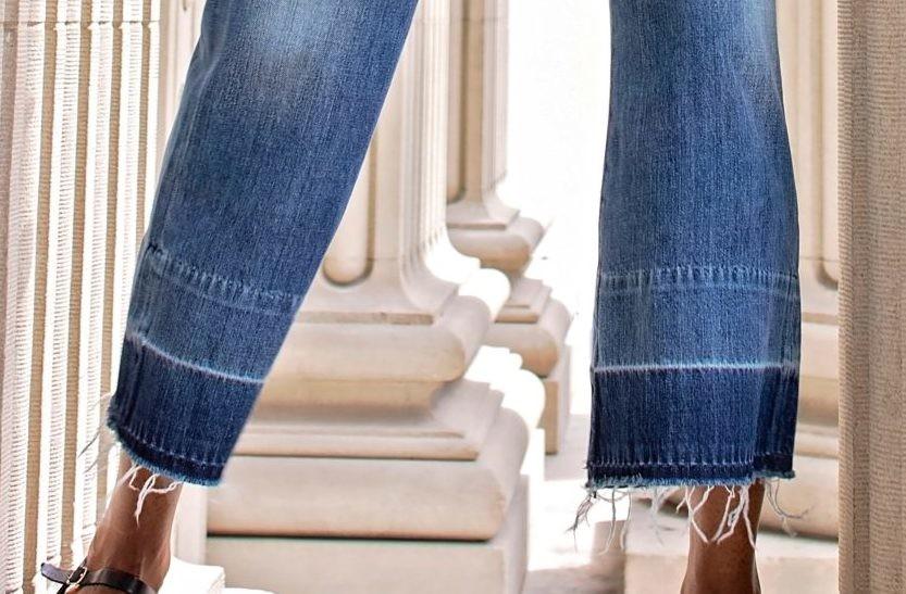 Вопрос стилисту: актуальны ли джинсы-клеш?