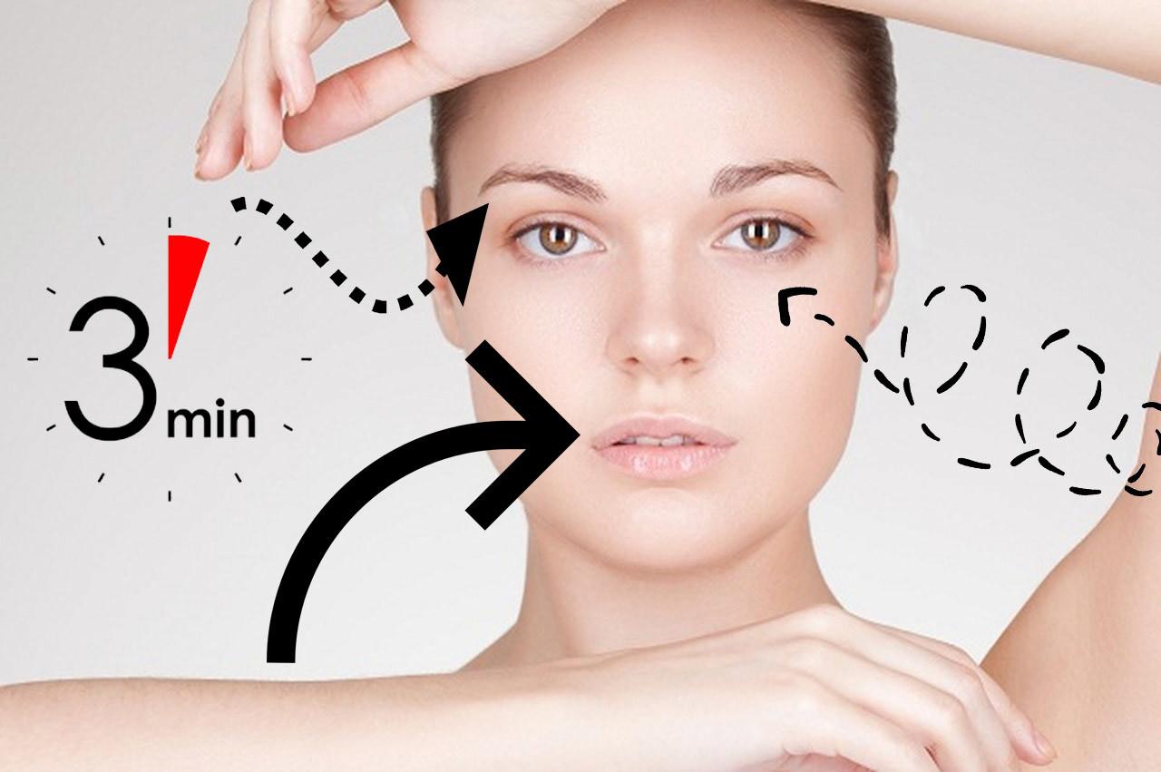3 макияжа за 3 минуты для тех, кто не выспался