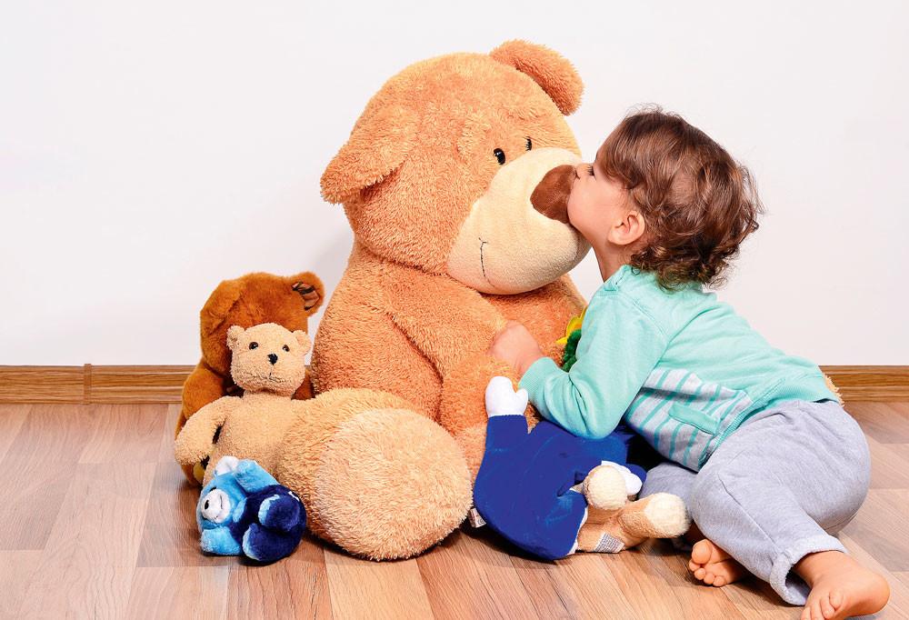 Что делать, если ребенок зависим от любимой игрушки?